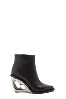 ALEXANDER MCQUEEN Ankle Boots silver hardware