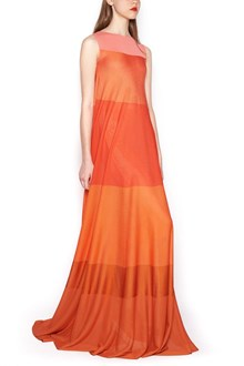 AGNONA color block long dress