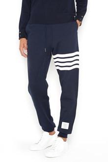 THOM BROWNE sweatpants with stripes