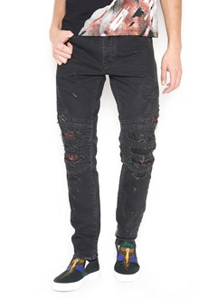 MARCELO BURLON - COUNTY OF MILAN 'black snake' jeans