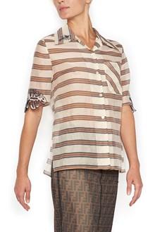 FENDI 'shaded stripes' shirt