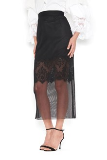 DOLCE & GABBANA lace and tulle skirt