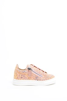 GIUSEPPE JUNIOR glittered Sneakers