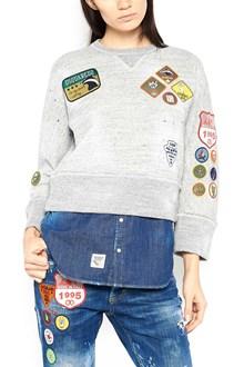 DSQUARED2 patches sweatshirt