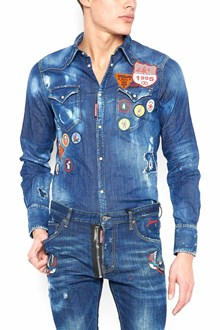 DSQUARED2 patches shirt
