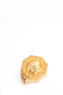 VERSACE medusa ring with greek