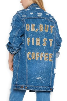 FORTE COUTURE 'ok but first coffee' jacket