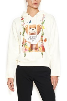 MOSCHINO 'flower teddy' hoodie