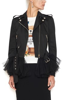 MOSCHINO tulle details jacket