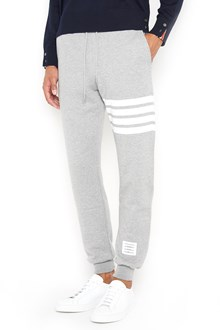 THOM BROWNE stripes sweatpants