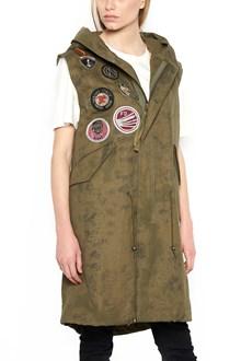 MR & MRS ITALY patch vest