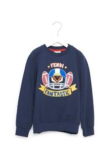 FENDI KIDS 'rugby fantastic' sweatshirt