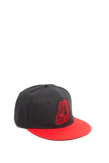 McQ ALEXANDER McQUEEN rabbit patch cap