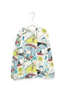 STELLA MCCARTNEY KIDS 'biz' sweatshirt