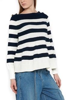 SACAI bateau neck sweater