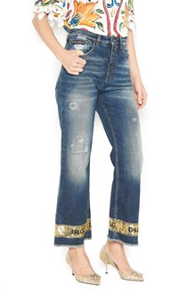 DOLCE & GABBANA jeans with sequins