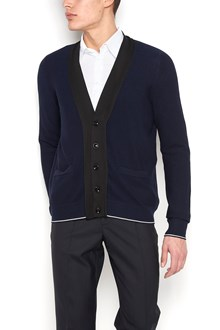 MAISON MARGIELA cardigan with white and black details