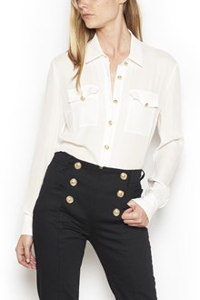 BALMAIN gold buttons shirt