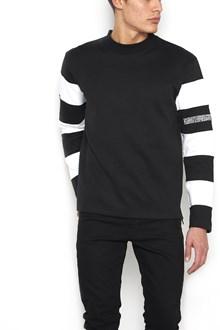 CALVIN KLEIN 205 W39 NYC horizontal stripes sleeves sweatshirt