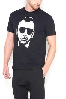 NEIL BARRETT 'moican gangster taxi driver' t-shirt