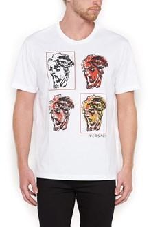 VERSACE andy warhol medusa t-shirt