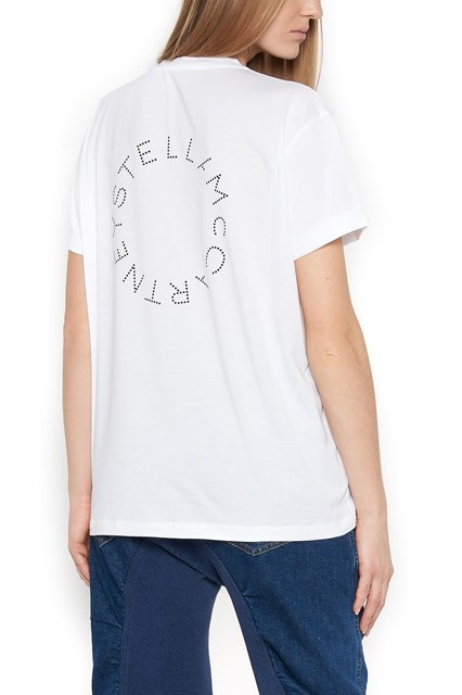 back logo t-shirt Stella McCartney Low Cost Online Wide Range Of Sale Online 100% Guaranteed Discount Comfortable zdTBOsdWuH