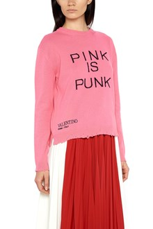 VALENTINO 'pink is punk' sweater