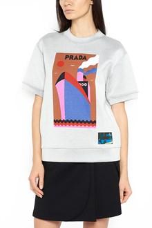 PRADA LINEA ROSSA short sleeves sweatshirt