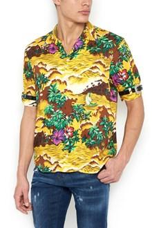 DSQUARED2 'bowling hawaii' shirt
