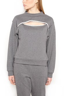 T by ALEXANDER WANG 'dry french terry' sweatshirt