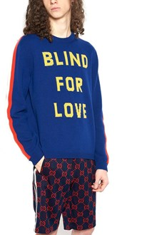 GUCCI 'blind for love' sweater