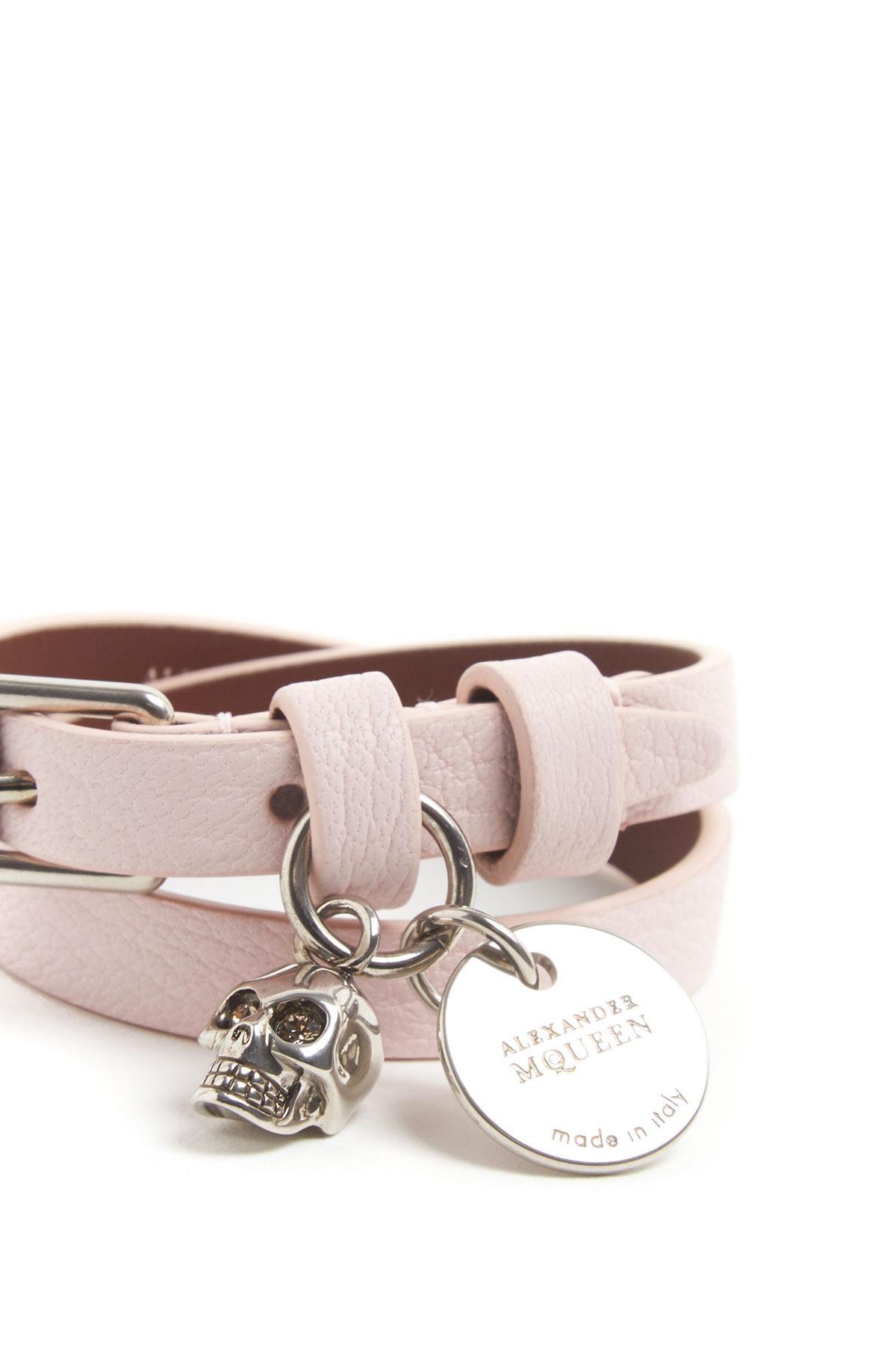 Alexander Mcqueen Bracelet With Skull Charm Cod 491414dzp0y5820