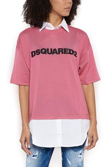 DSQUARED2 logo sweater with under shirt