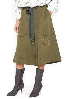 MARQUES ALMEIDA culottes with metal ring