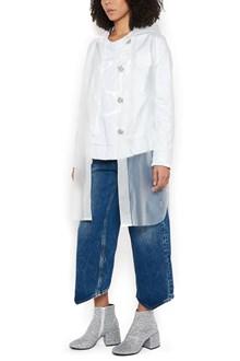 MM6 BY MAISON MARGIELA Jewel button rain coat