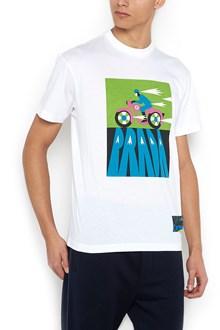 PRADA 'jwp motor bike' t-shirt