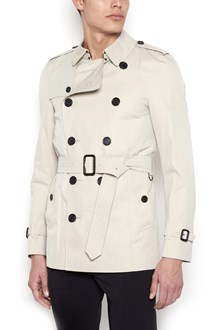 BURBERRY short 'kensington' trench coat