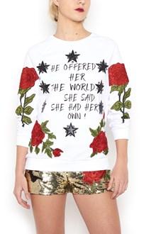 PHILIPP PLEIN roses sweatshirt