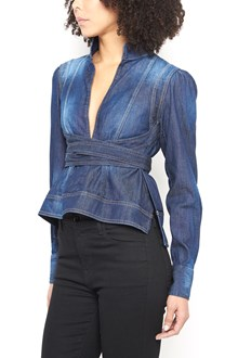 DSQUARED2 denim shirt with waistband