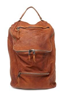 GIORGIO BRATO double zipped backpack