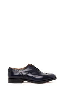CHURCH'S 'burwood polished fume' lace up shoes