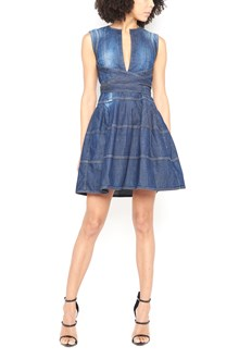 DSQUARED2 mini dress with waistband