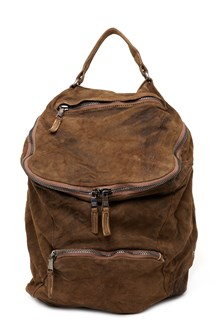 GIORGIO BRATO double zip backpack