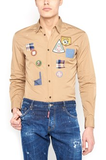DSQUARED2 patch shirt
