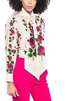 GUCCI logo buttons blouse