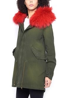MR & MRS ITALY parka jacket with fox fur