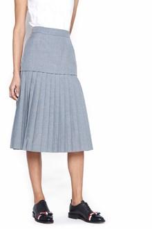 THOM BROWNE 'school uniform' midi skirt