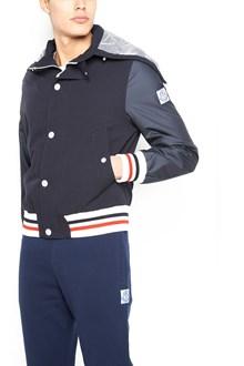 MONCLER GAMME BLEU bimaterial bomber jacket
