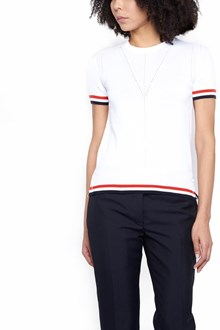 THOM BROWNE stripe t-shirt