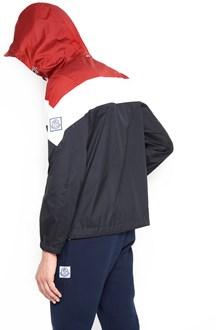 MONCLER GAMME BLEU color block k-way jacket